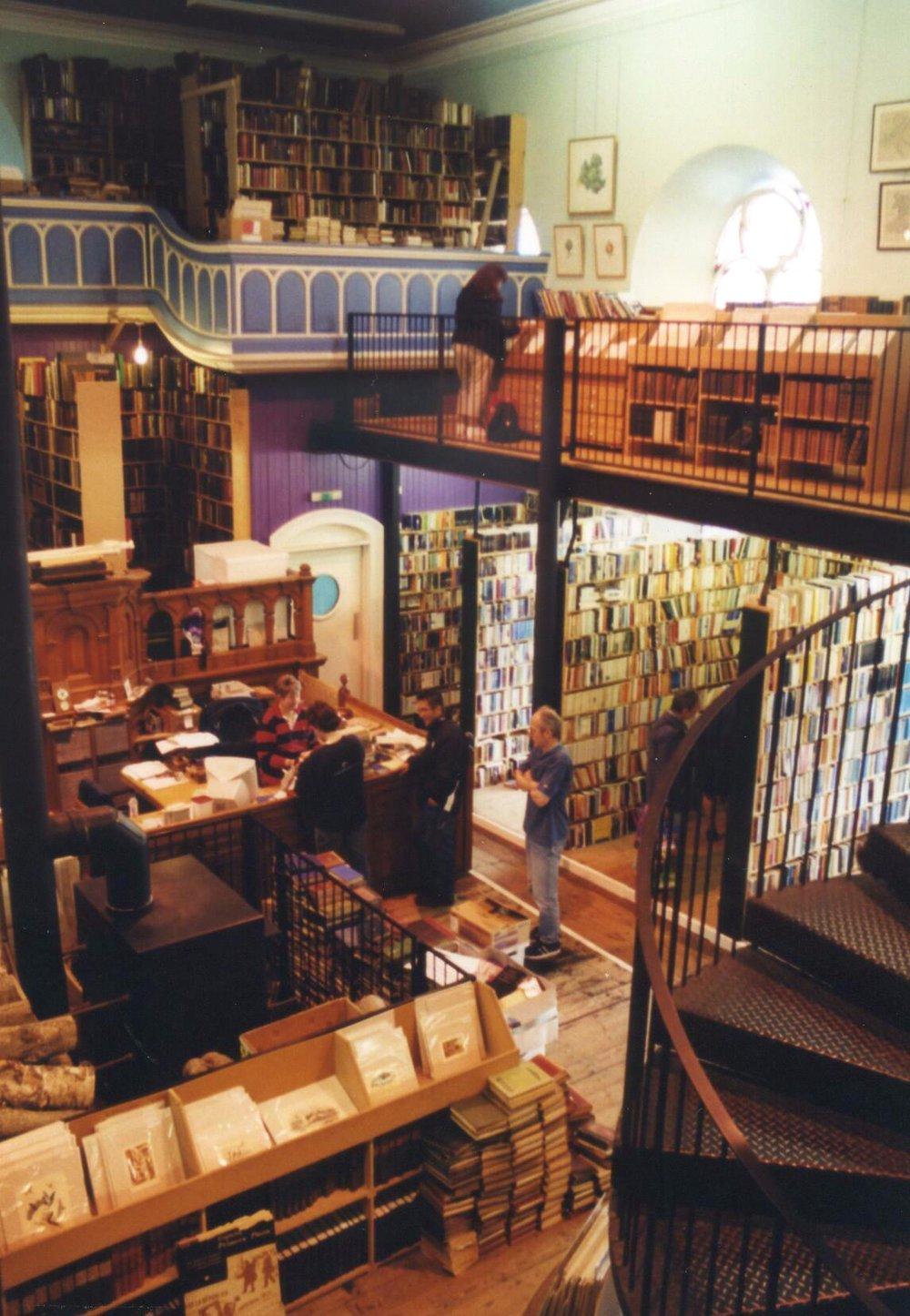 Leakey's magical second-hand bookshop
