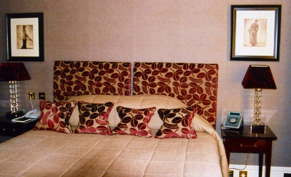 A Much Cheerier Mar Hall bedroom