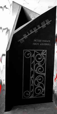 Pictish Ogham from Ackergill