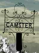 CAMSTER sign