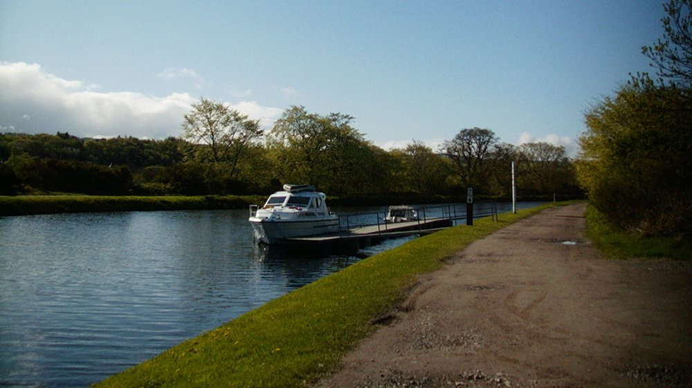Recreational boating on the Caledonian Canal