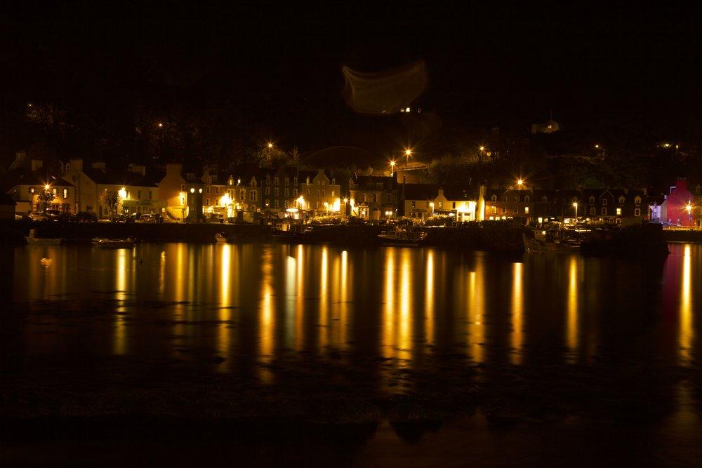 Tobermory Isle of Mull by Night