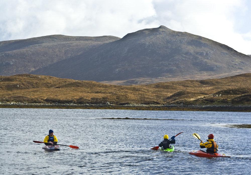 Kayaking the Western Isles