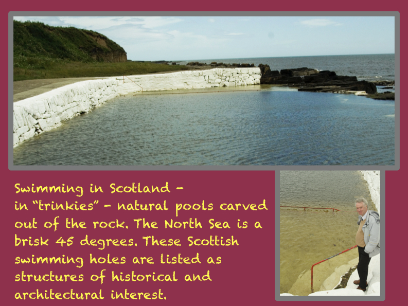 Swimming in Scotland