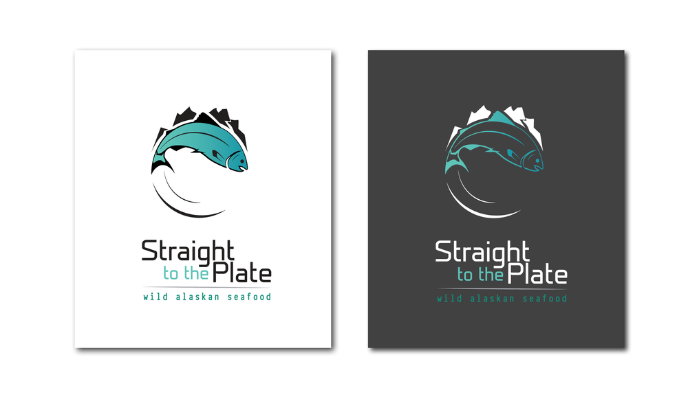 Straight to the Plate Logo
