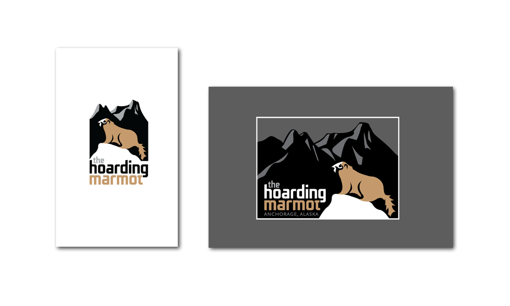 The Hoarding Marmot Logo