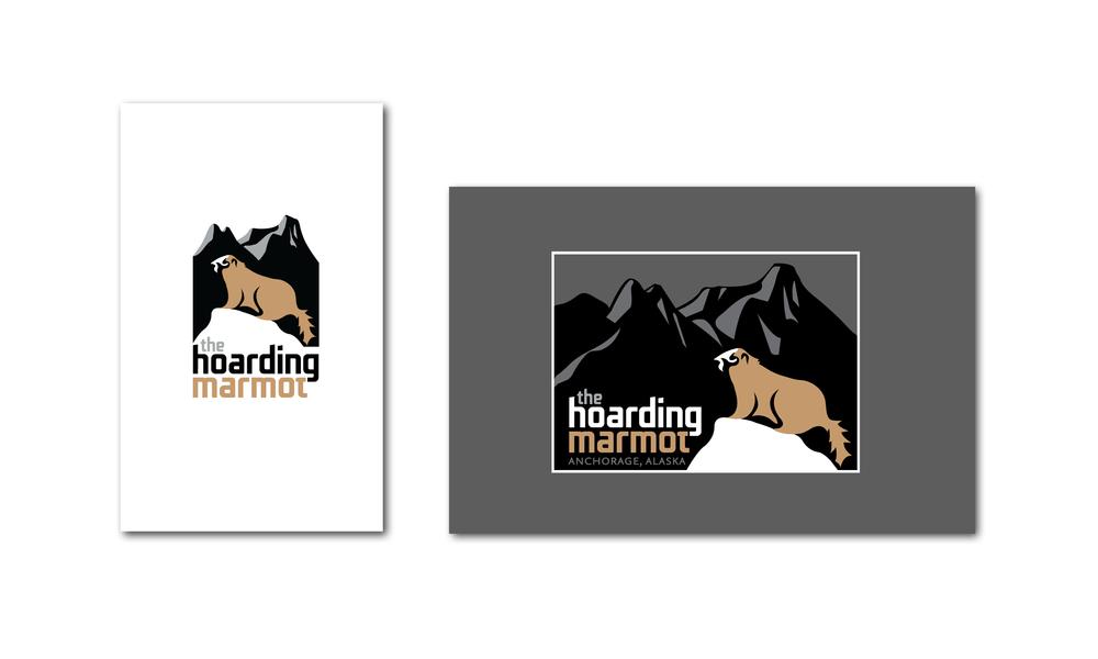 The Hoarding Marmot Logo