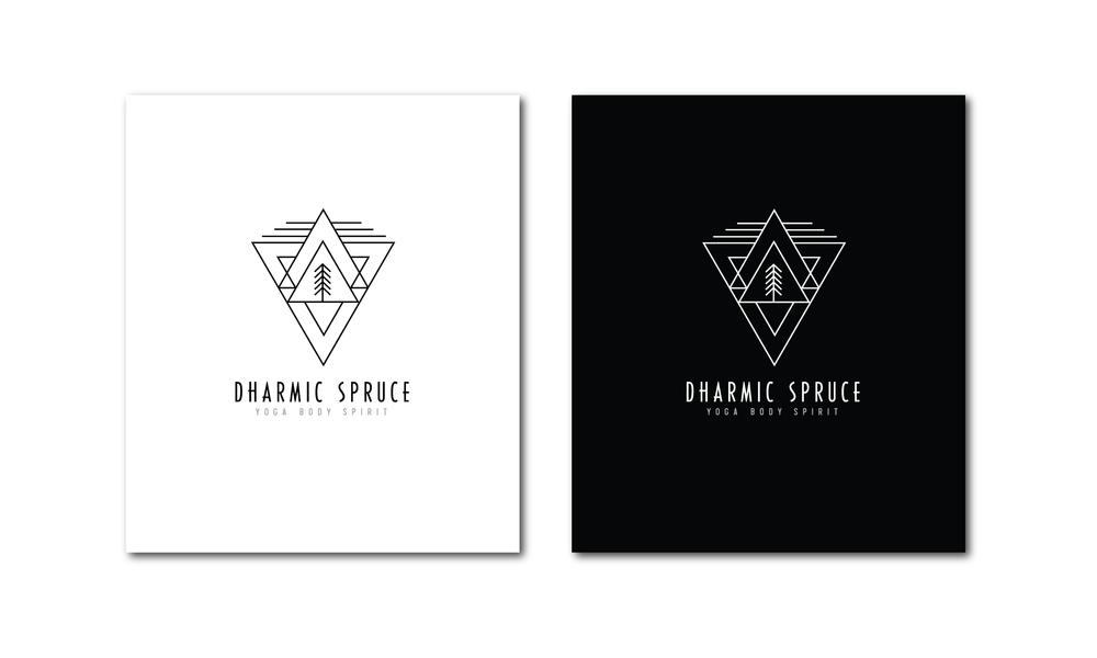 Dharmic Spruce Logo