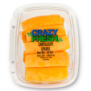CANTALOUPE SPEARS - 15 OZ. — 80030