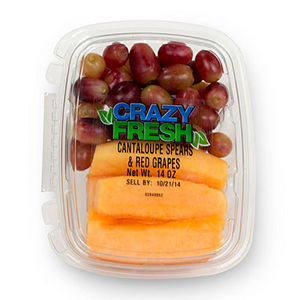 CANTALOUPE/RED GRAPES - 14 OZ. — 80073