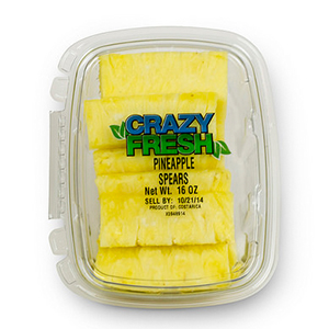 PINEAPPLE SPEARS - 16 OZ. — 80220