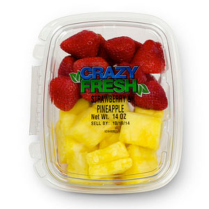 STRAWBERRY/PINEAPPLE - 14 OZ. — 80640