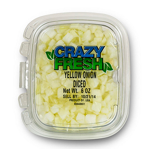 YELLOW ONION DICED - 6 OZ. — 82200