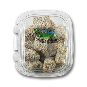 COCONUT DATE ROLL - 12 OZ. — 56571