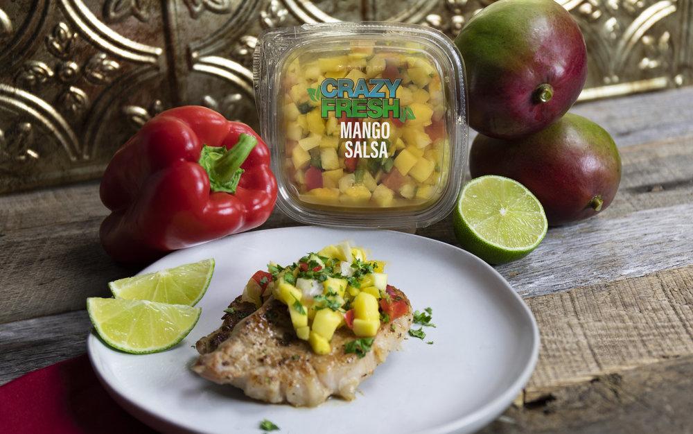 Mango Salsa & Pork Chops