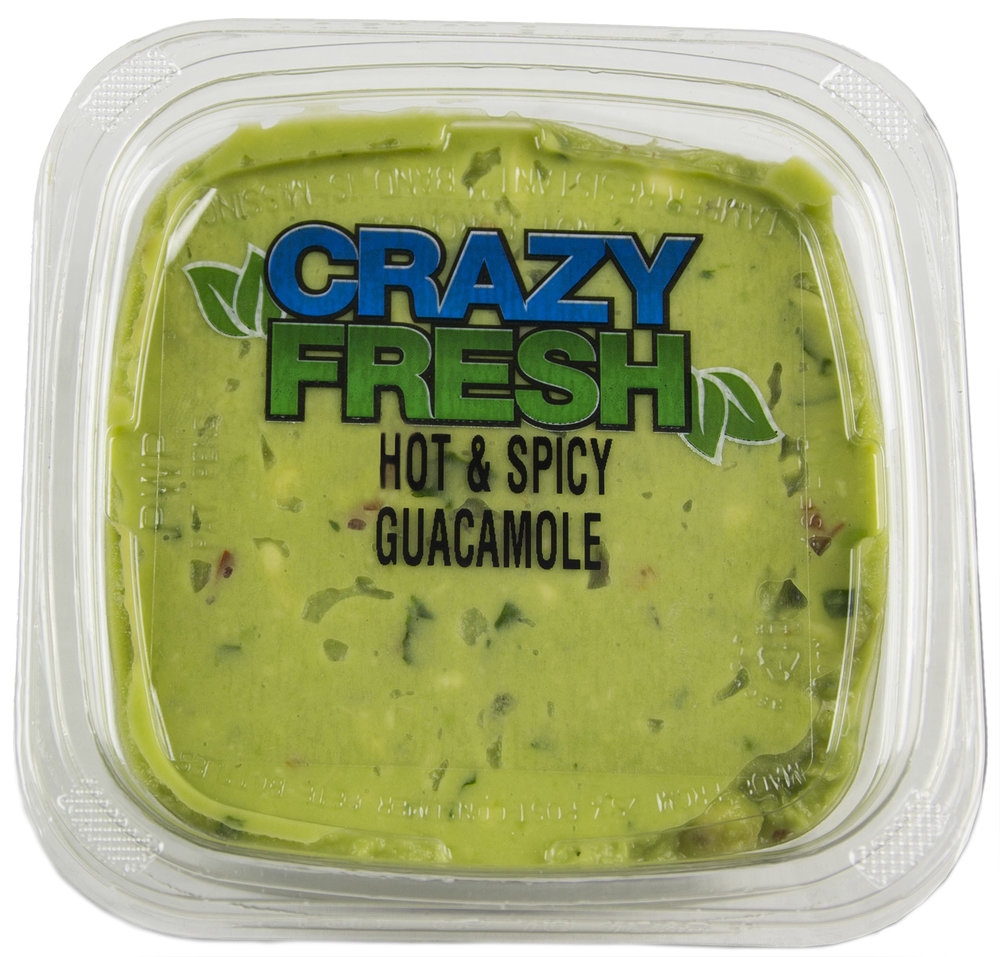 HOT & SPICY GUACAMOLE - 10 OZ. — 80961