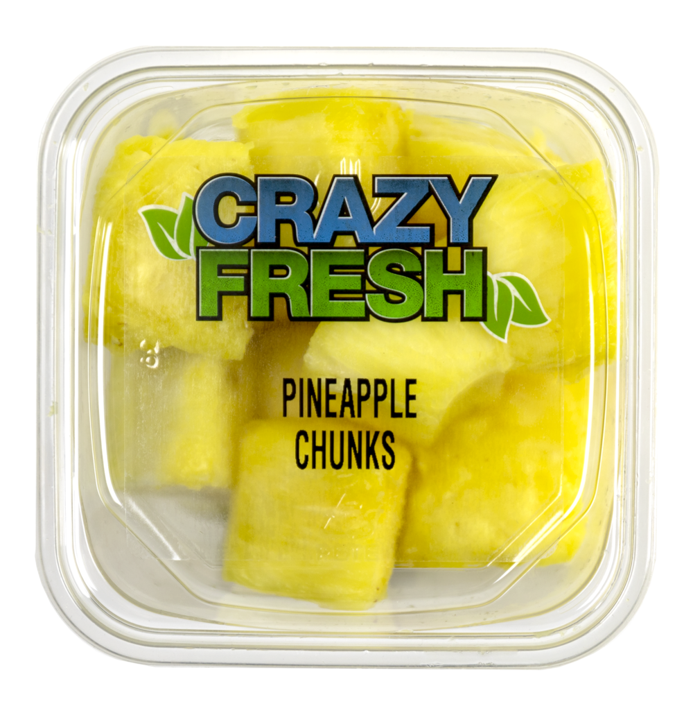 PINEAPPLE CHUNKS - 6 OZ. — 80200