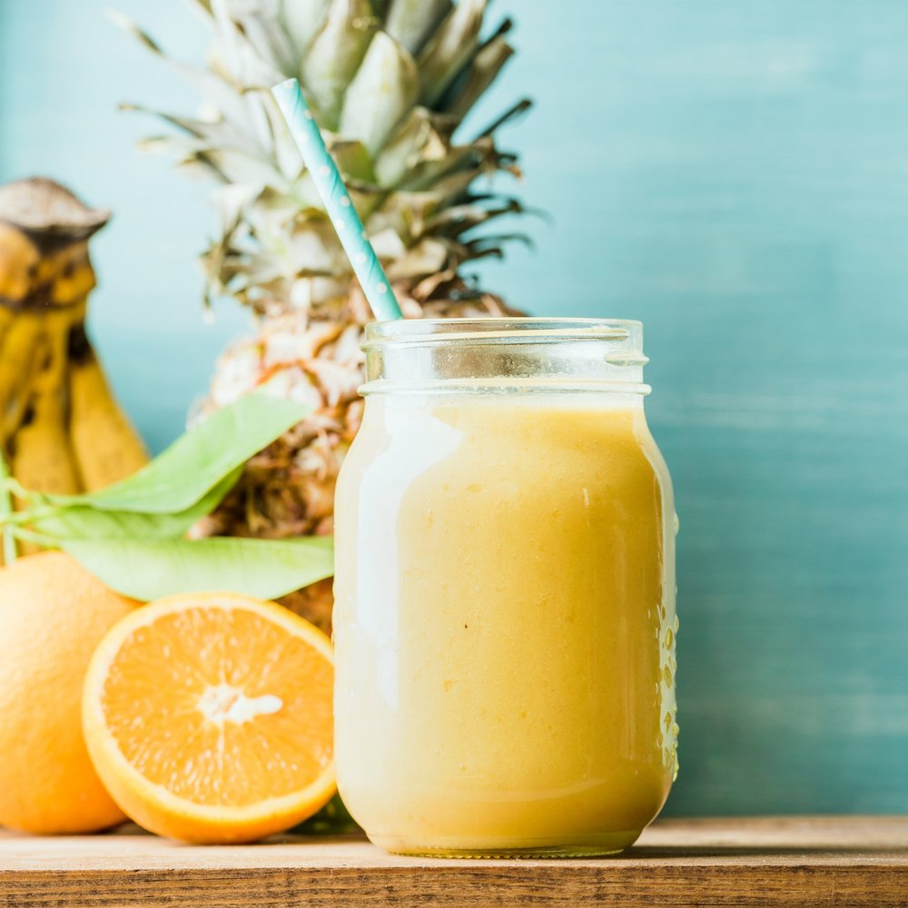 Hazelnut Citrus Smoothie -