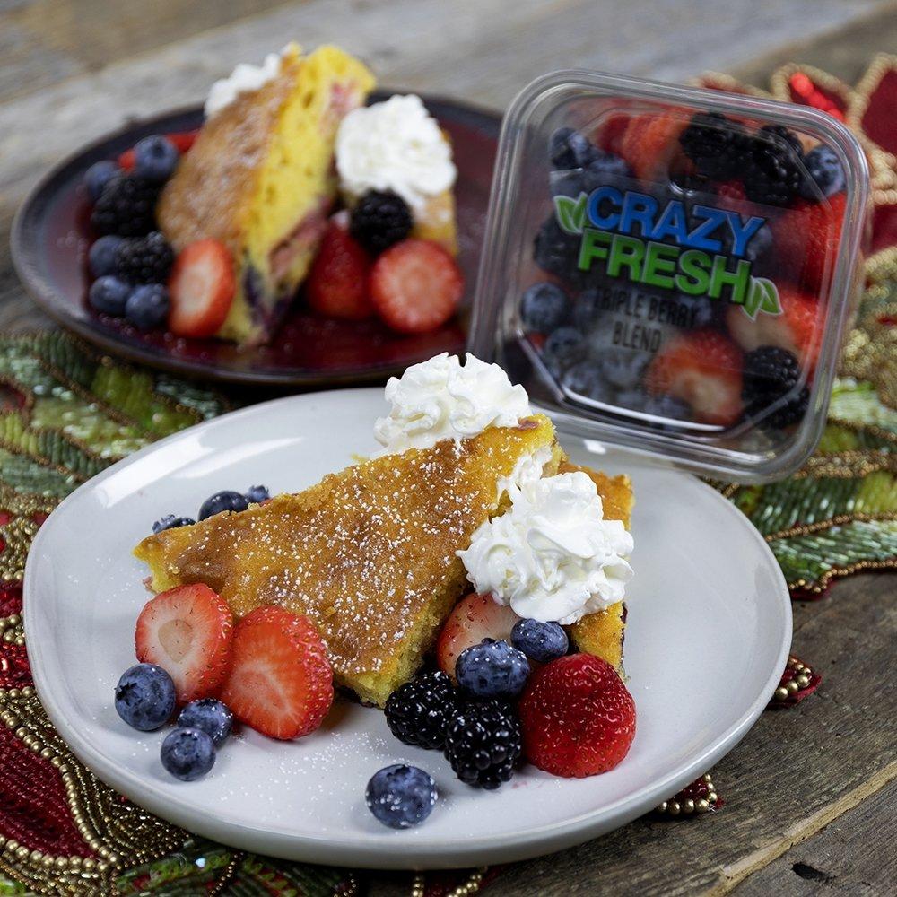 Merry Berry Cake -
