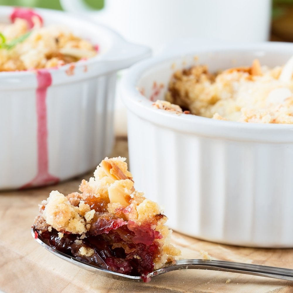 Easy Fruit Cobbler -