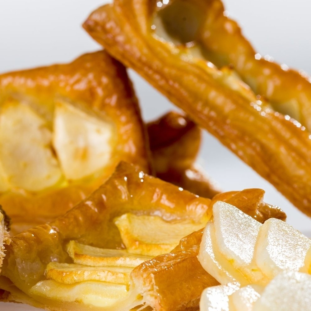 Fuji Apple Puff Pastry -