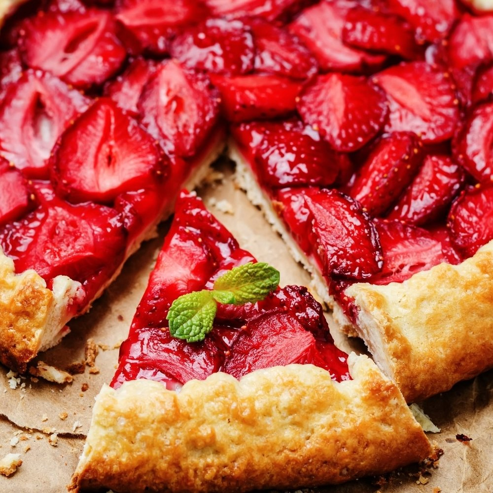 Strawberry Galette -