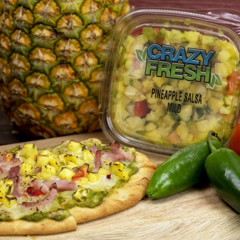 Mexi-waiian Pizza -