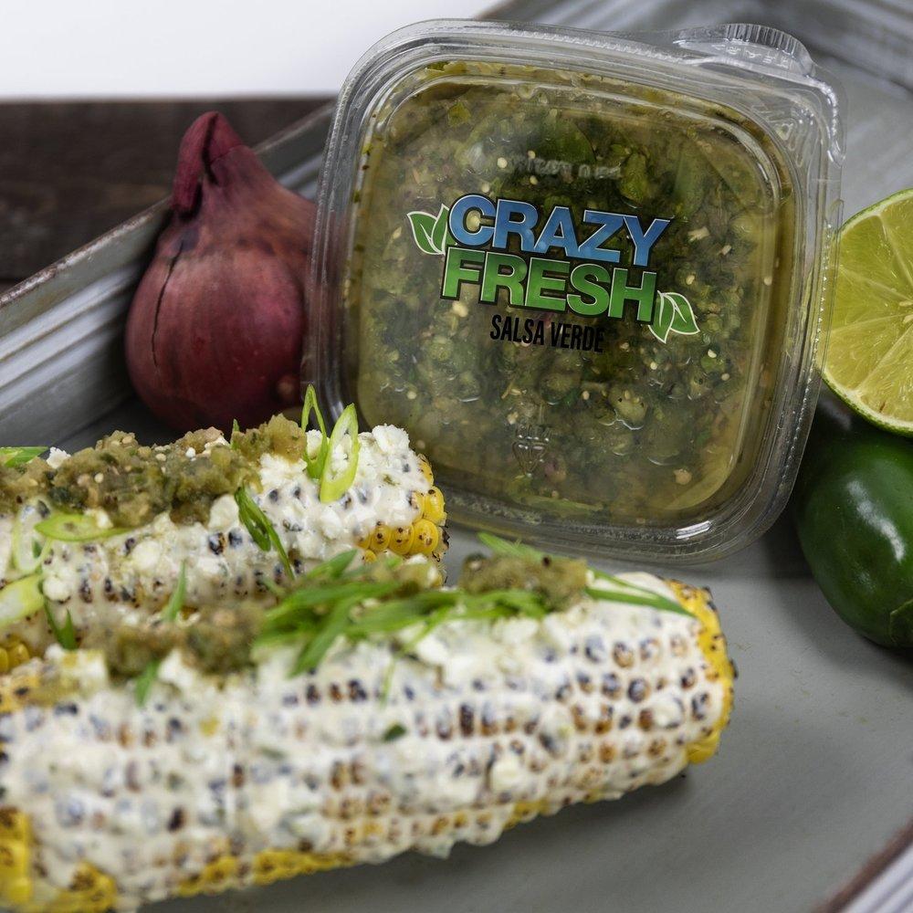 Salsa Verde Elote -