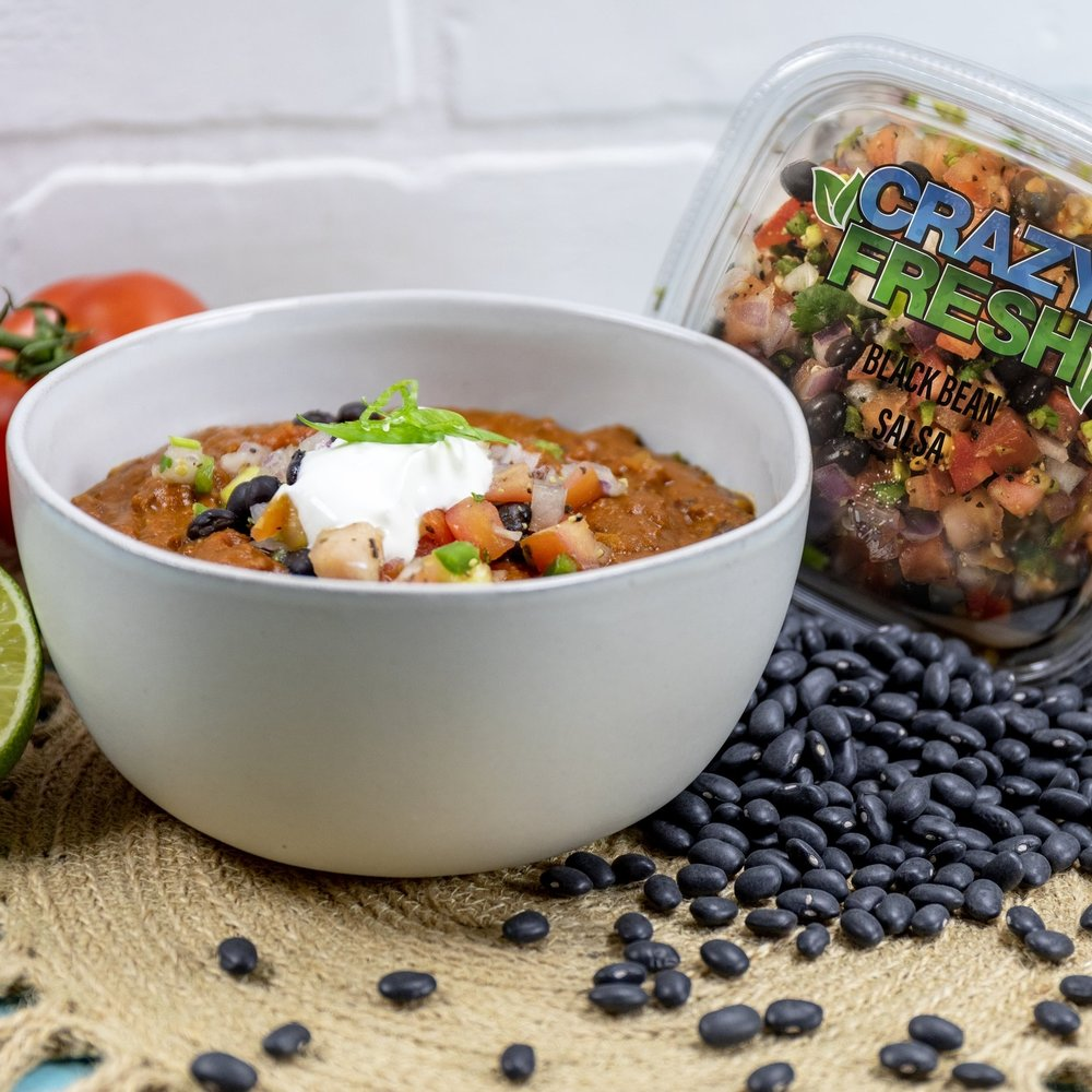 Black Bean Salsa Chili -