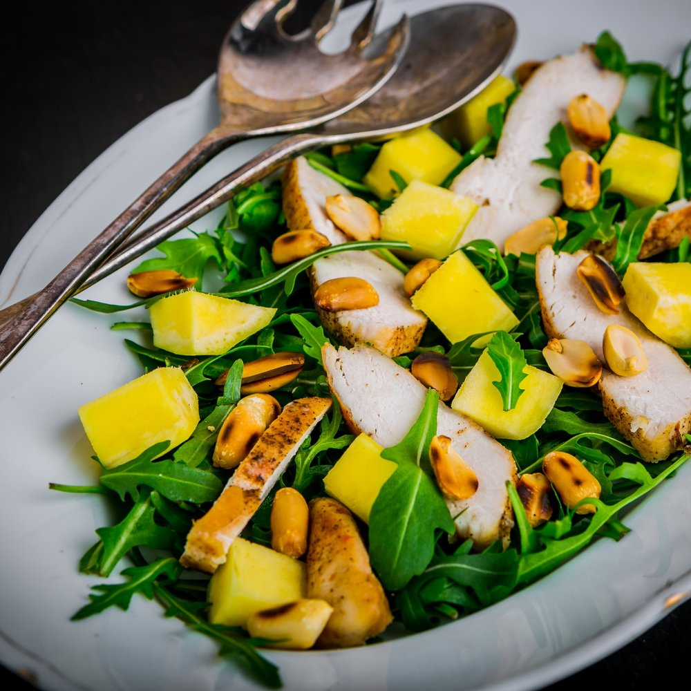 Crazy Fresh Mango Salad -