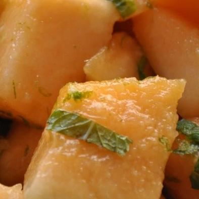 Cantaloupe Salad -