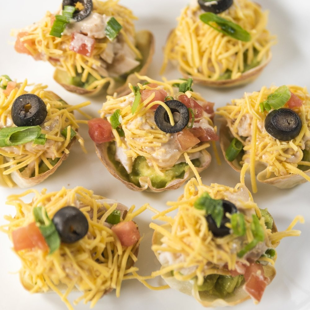 Crazy Fresh Taco Cups -