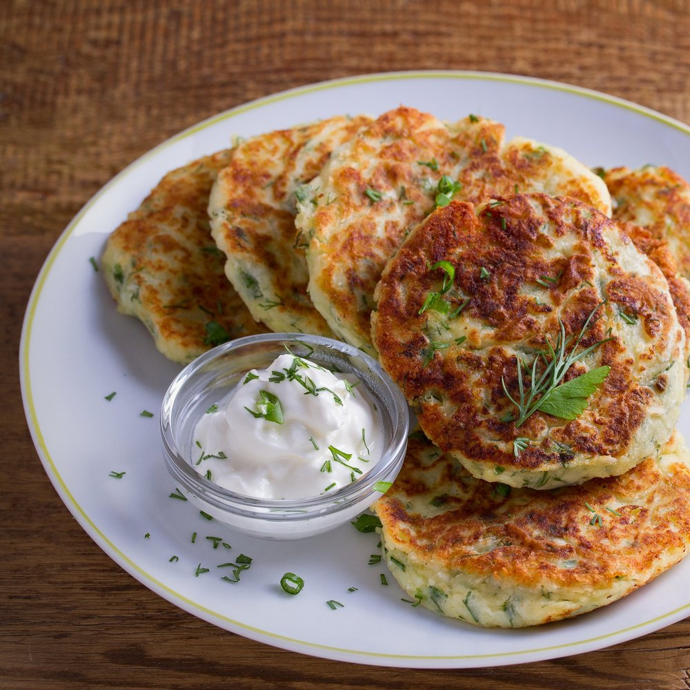 Cauliflower Cakes -