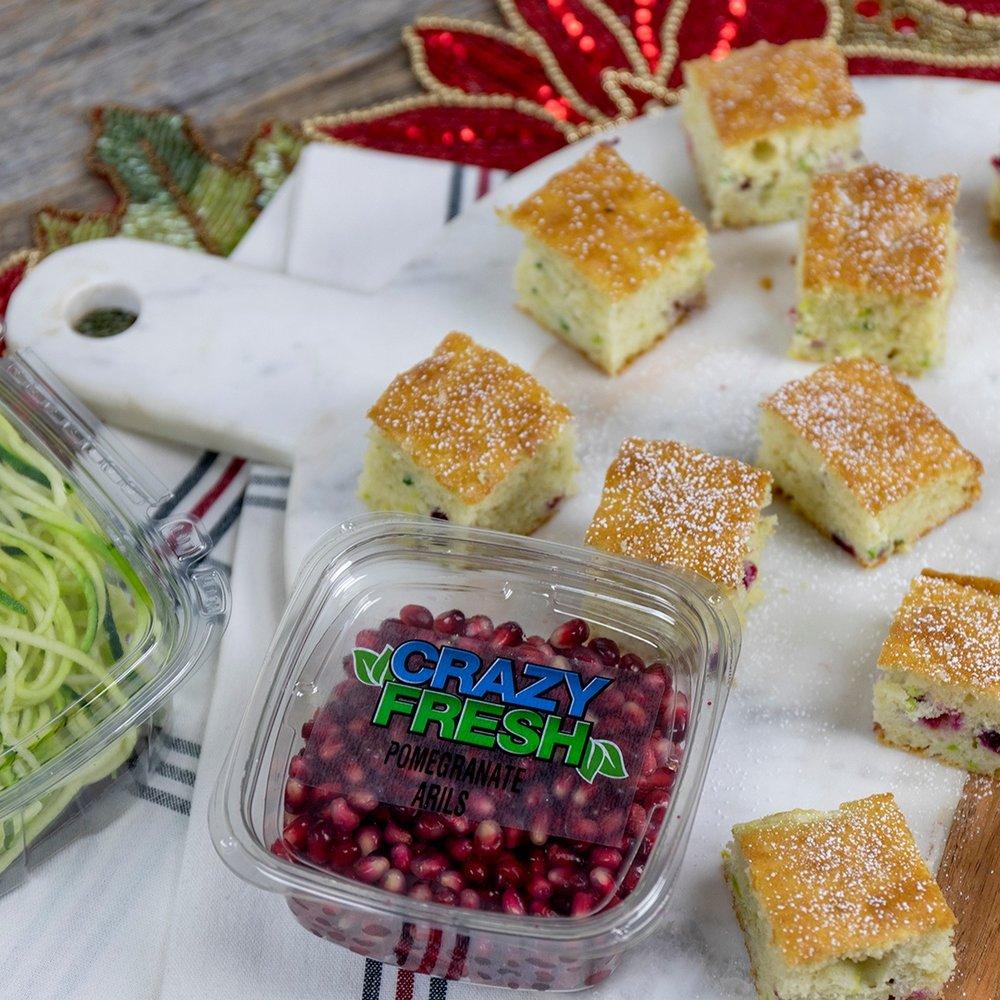 Sweet Zucchini Pom Bites -