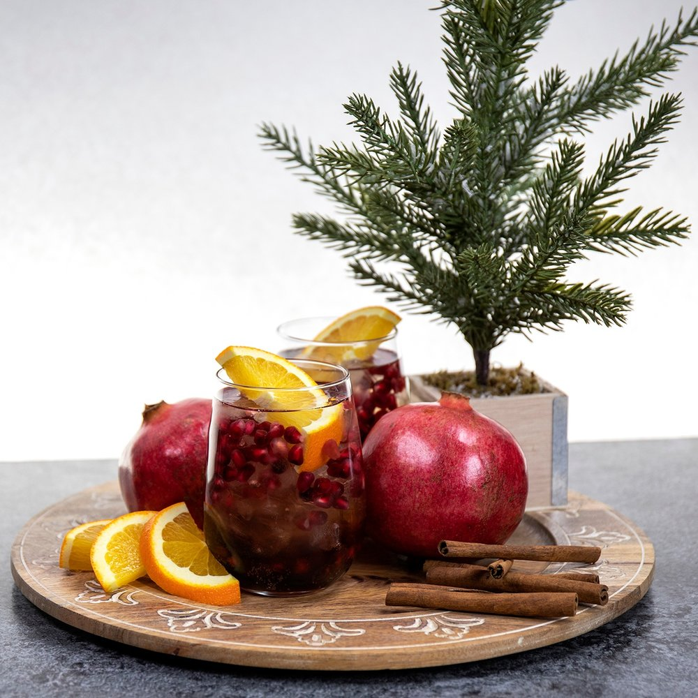 Pomegranate Old Fashioned -