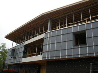 2nd & 3rd floors of a modern design home take shape.