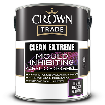 Clean Extreme Mould Inhibiting Acrylic Eggshel l