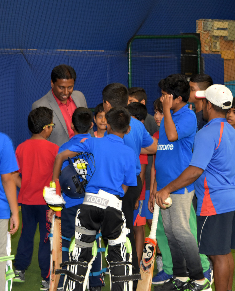 Mr. Neethan Shan day out with Actionzone Kids