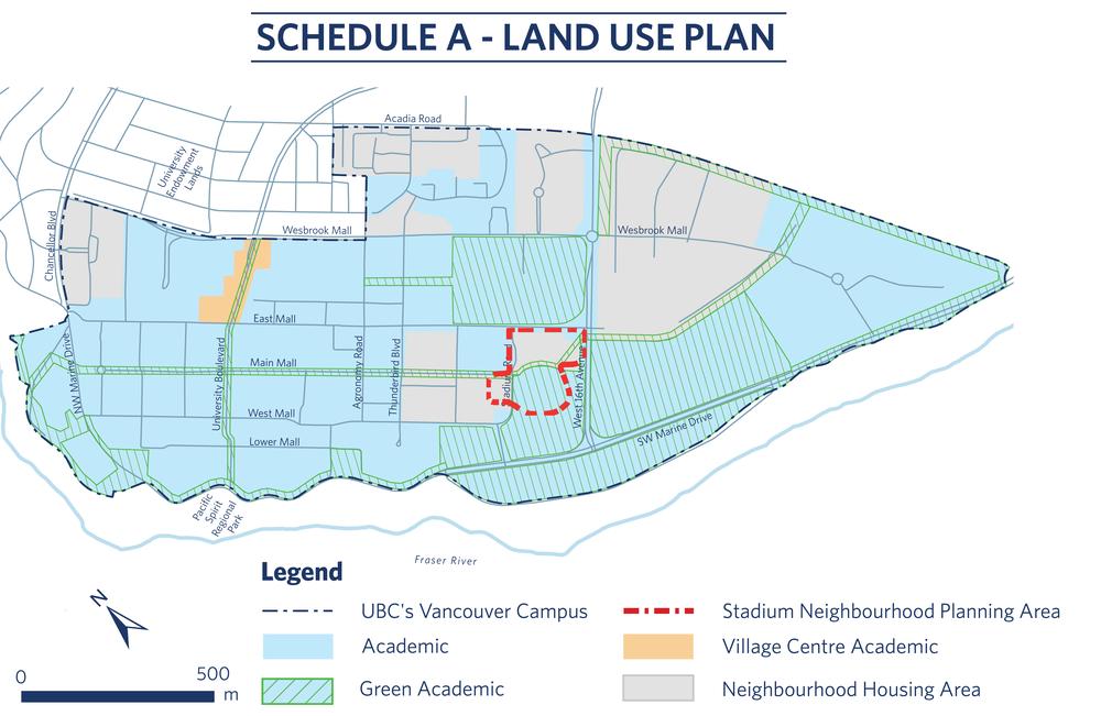 UBC Land Use Plan