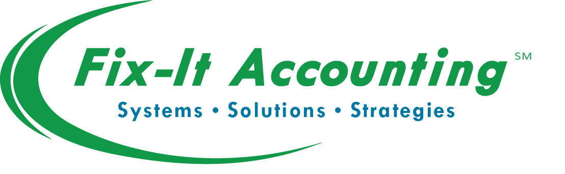 Fix-It Accounting Bookkeeping, IRS Solutions, Tax Preparation Services