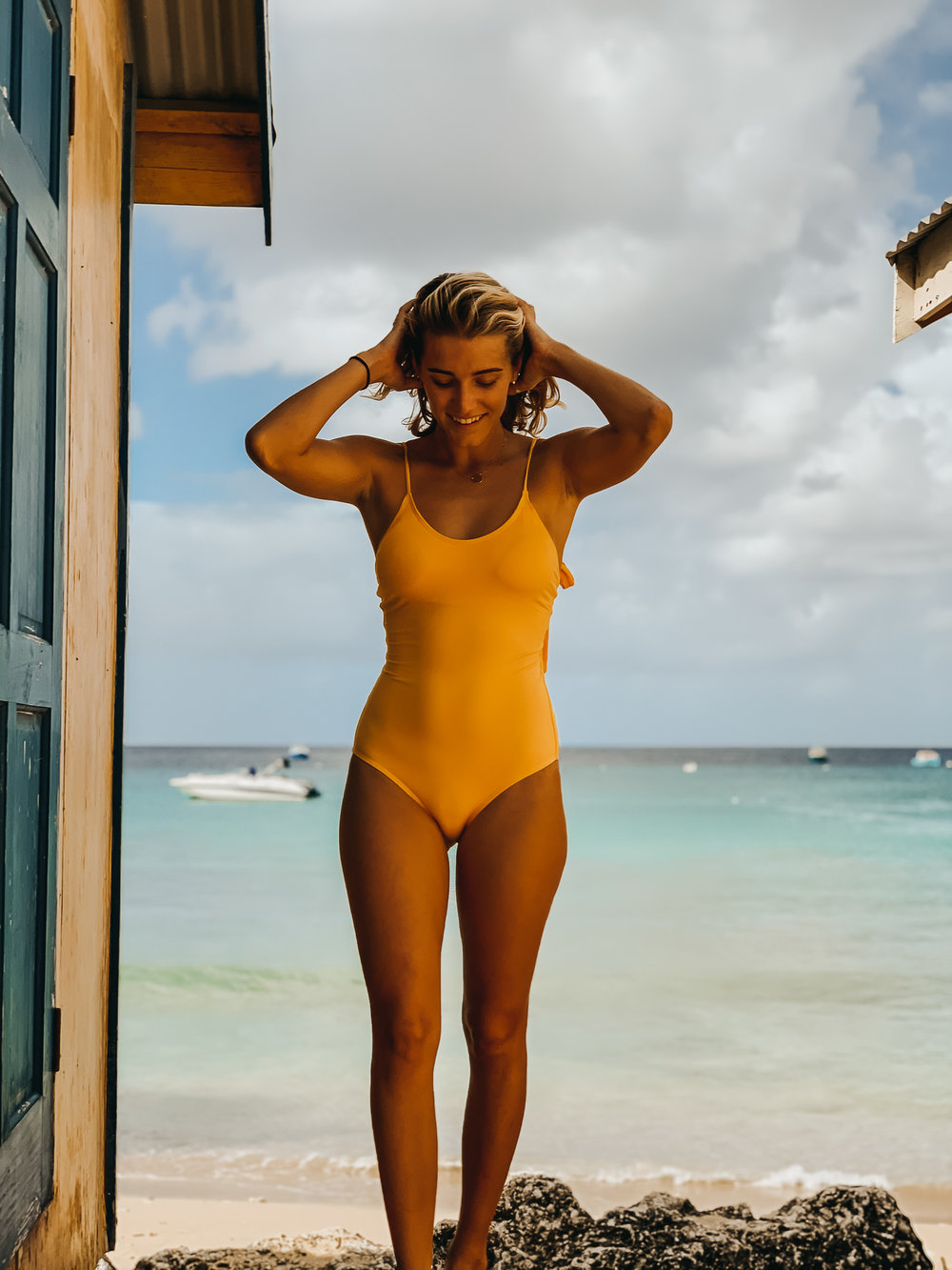 The Toucan One-Piece Front