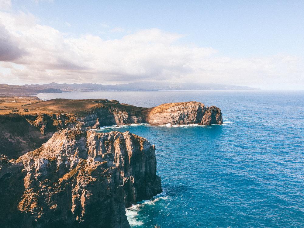 Incredible views of The Atlantic