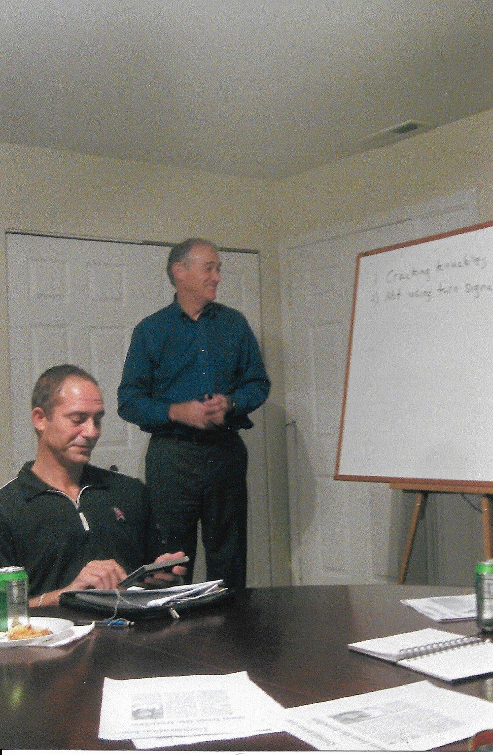 Sturgis teaching circa 2000