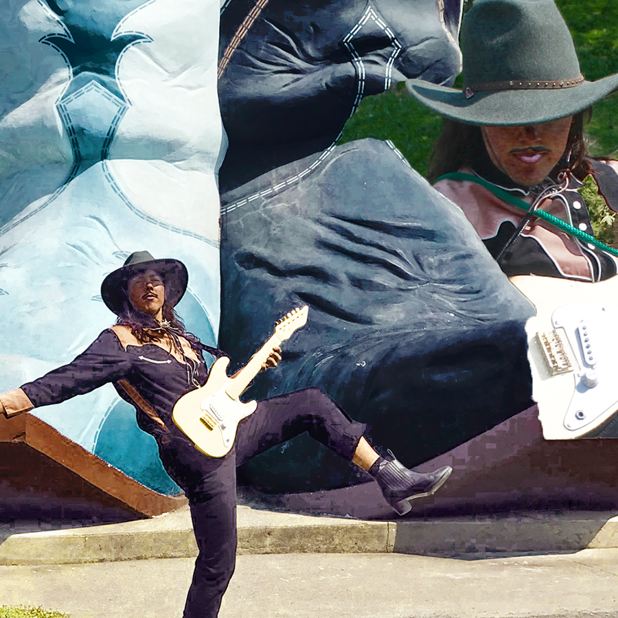 VISUAL ARTIST, MUSICIAN, PUBLIC LIBRARY ACTIVIST, QUEER-ECO RADICAL FEMINIST: COLEY MIXAN