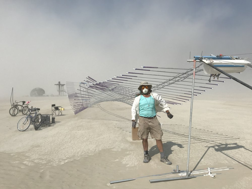 About - From Burning Man to you with art that inspires.