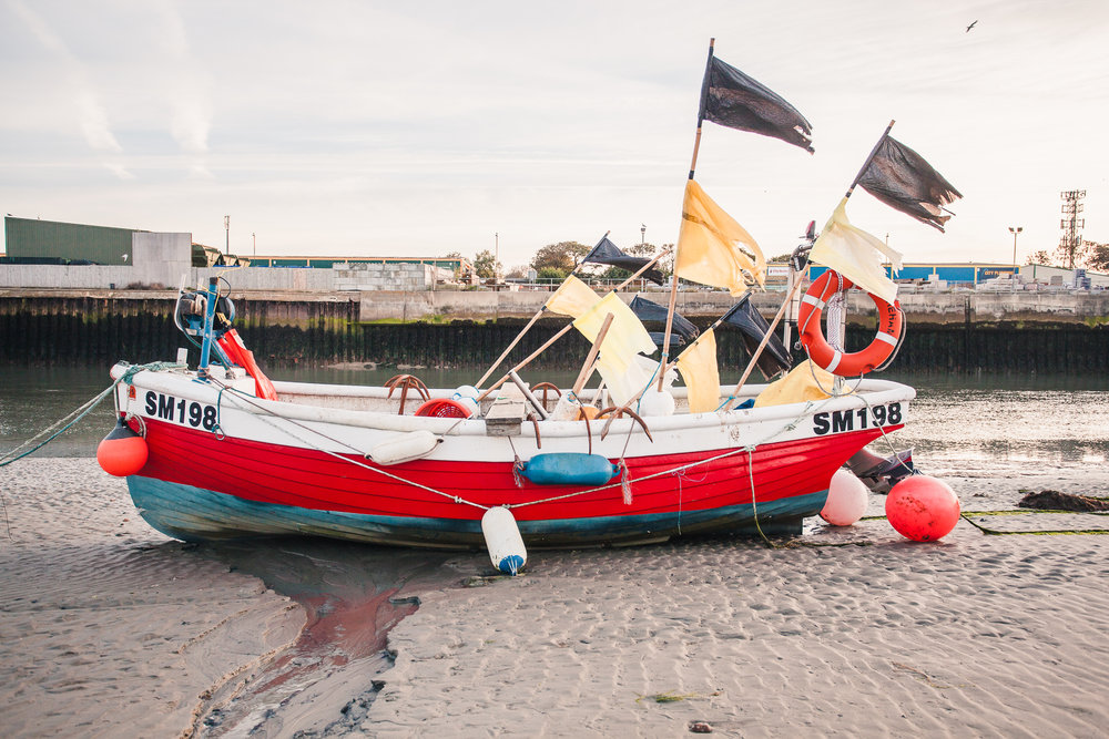 fishing boat 1, shoreham-by-sea, sussex, uk 2016
