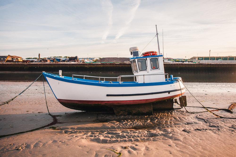 fishing boat 3, shoreham-by-sea, sussex, uk 2016