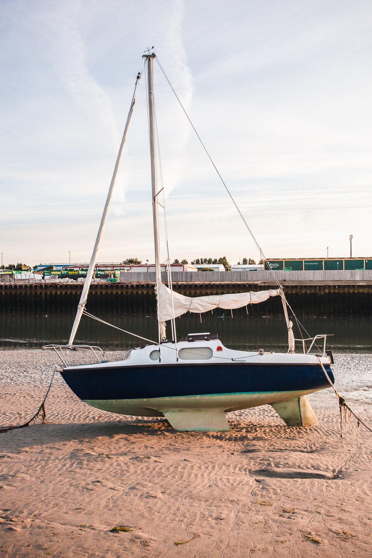 Yacht 1, shoreham-by-sea, sussex, uk 2016