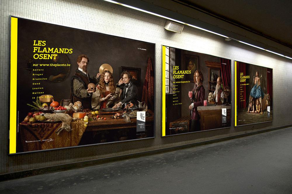 Affiches métro