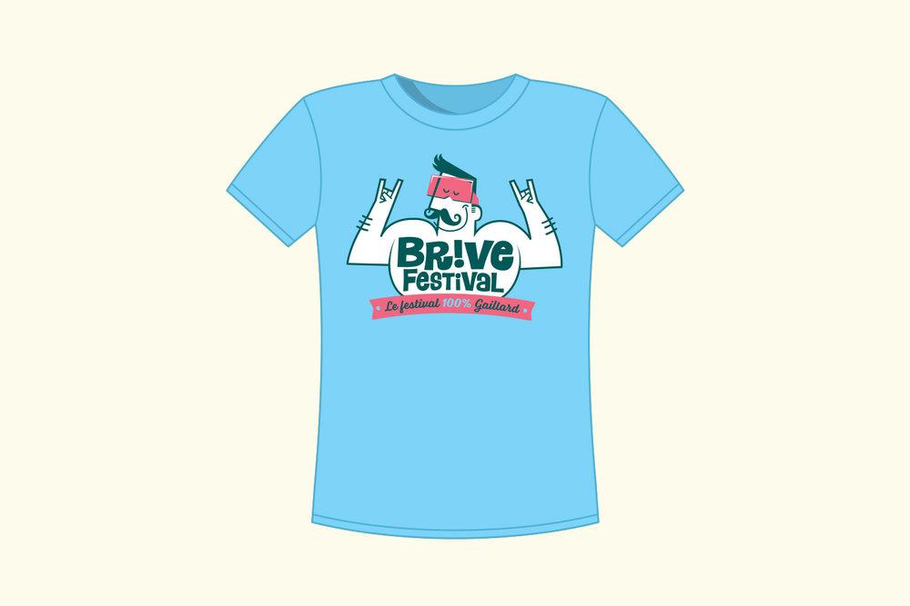 T-shirt Brive Festival